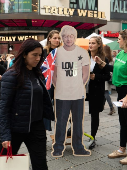 That way Boris could change his mind on the EU